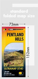 Harvey Ultra Map - Pentland Hills XT40