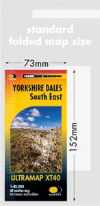 Harvey Ultra Map - Yorkshire Dales South East XT40
