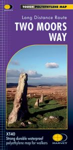 Harvey National Trail Map - Two Moors Way