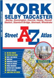 A-Z Street Atlas - York