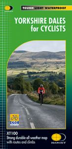 Harvey Cycle Map - Yorkshire Dales for Cyclists