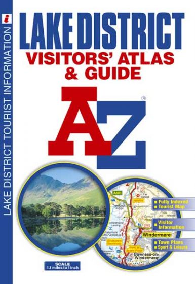 A-Z Visitors's Atlas - Lake District