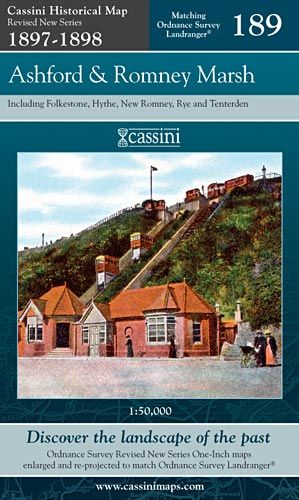 Cassini Revised New - Ashford & Romney Marsh (1897-1898)