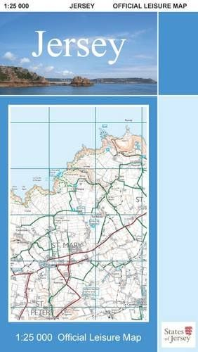 Digimap - Channel Islands Jersey Official Leisure Map