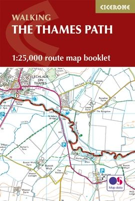 Cicerone - National Trail Map Booklet - The Thames Path (MB)