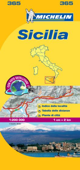 Michelin Local Map - 365-Sicily