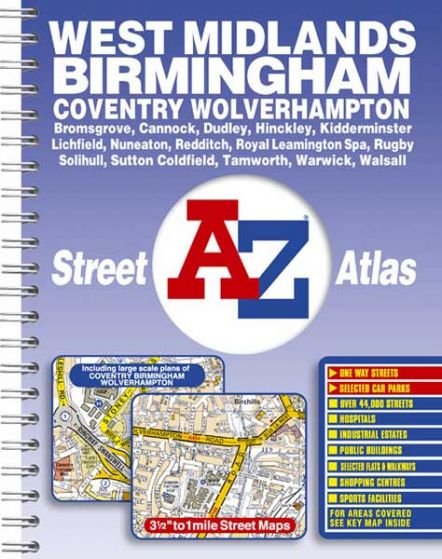 A-Z Street Atlas - West Midlands