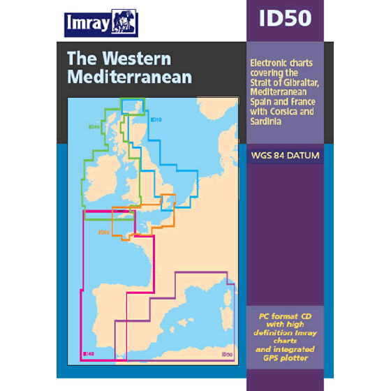Imray ID Chart (Digital) - Central Mediterranean (ID60)