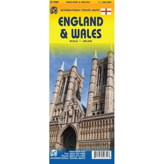 ITMB - World Maps - England / Wales