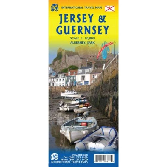 ITMB - World Maps - Jersey & Guernsey
