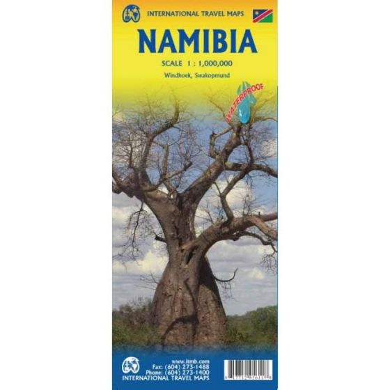 ITMB - World Maps - Namibia