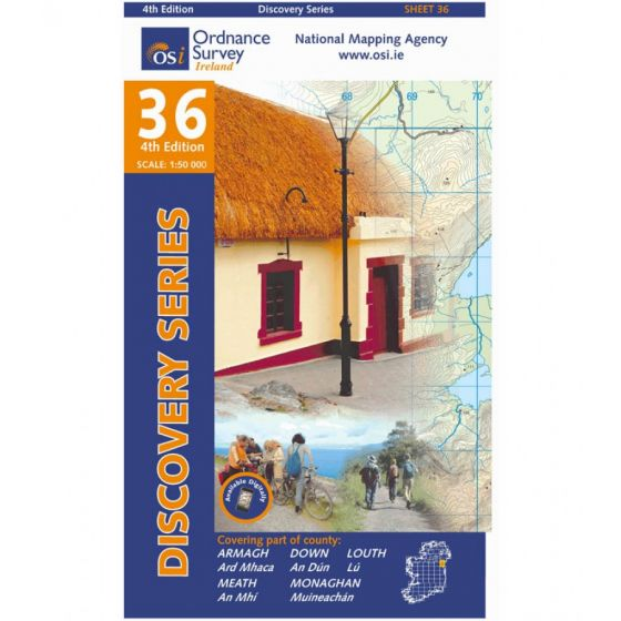 OS Discovery - 36 - Armagh, Down, Louth, Meath
