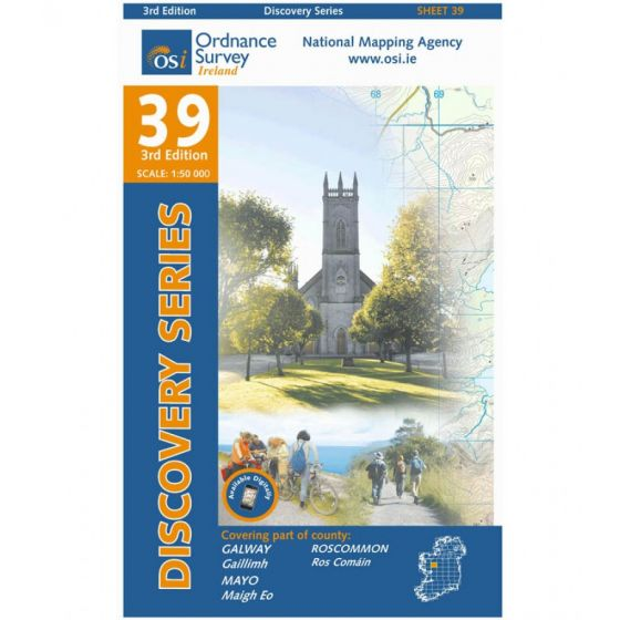 OS Discovery - 39 - Galway, Mayo, Roscommon