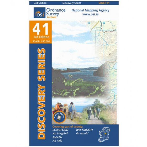 OS Discovery - 41 - Longford, Meath, Westmeath