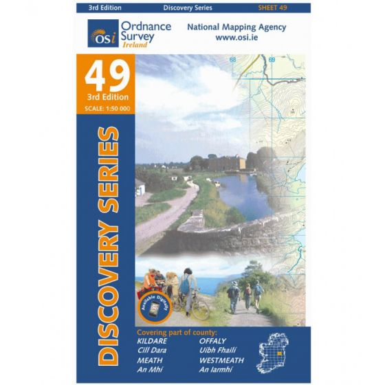 OS Discovery - 49 - Kildare, Meath, Offaly, Westmeath