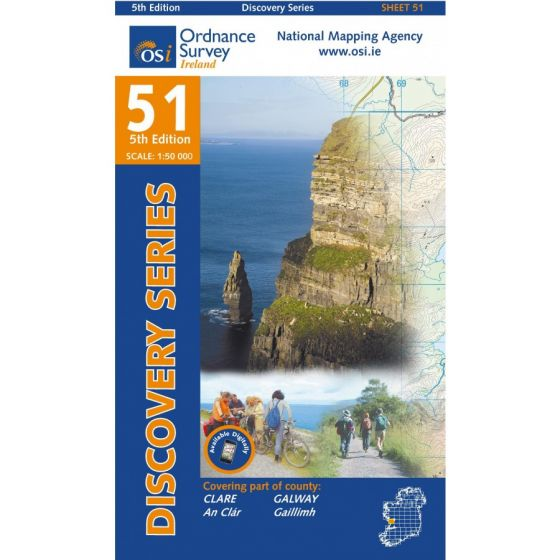 OS Discovery - 51 - Clare, Galway