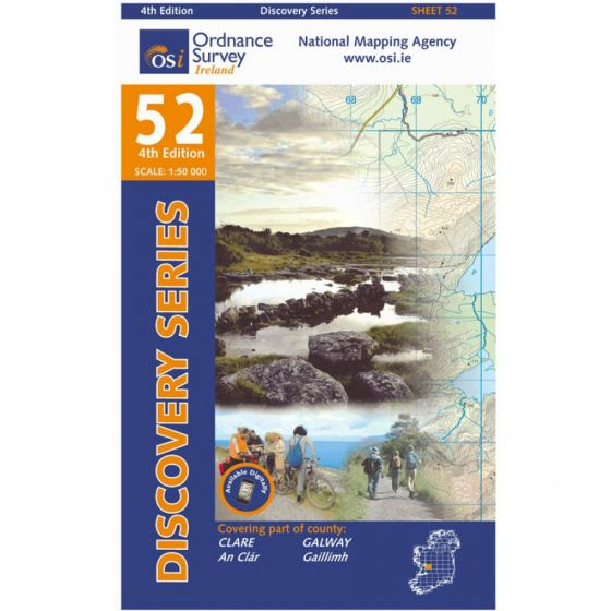 OS Discovery - 52 - Clare, Galway