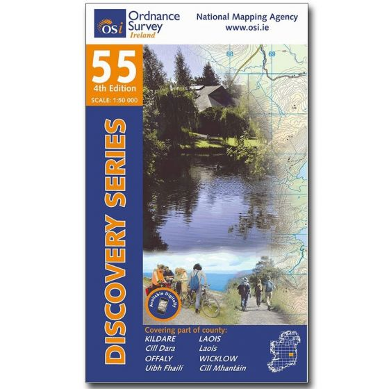 OS Discovery - 55 - Kildare, Laois, Offaly, Wicklow