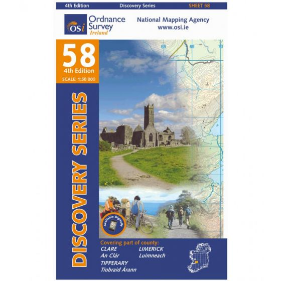 OS Discovery - 58 - Clare, Limerick, Tipperary