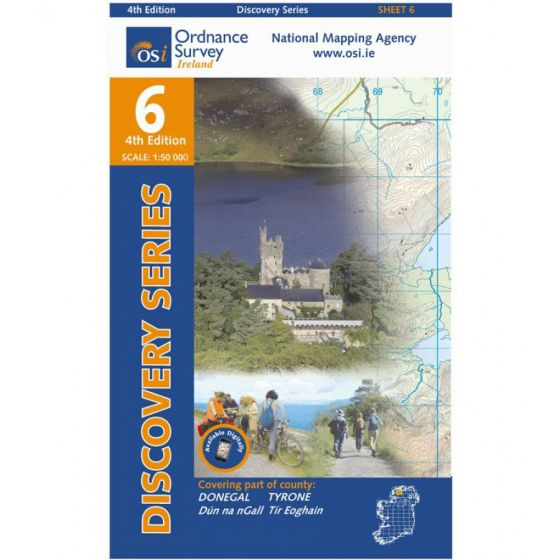 OS Discovery - 6 - Donegal (Cent), Tyrone