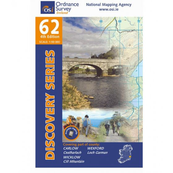 OS Discovery - 62 - Carlow, Wexford, Wicklow