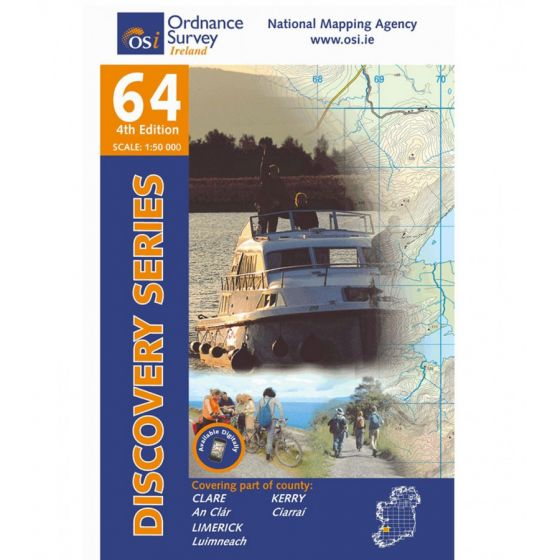 OS Discovery - 64 - Clare, Kerry, Limerick