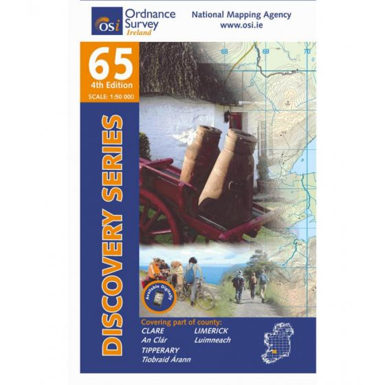 OS Discovery - 65 - Clare, Limerick, Tipperary