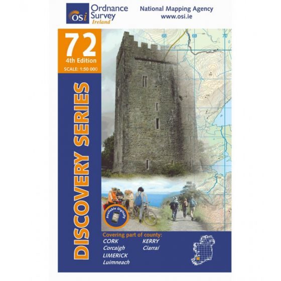 OS Discovery - 72 - Kerry, Cork, Limerick