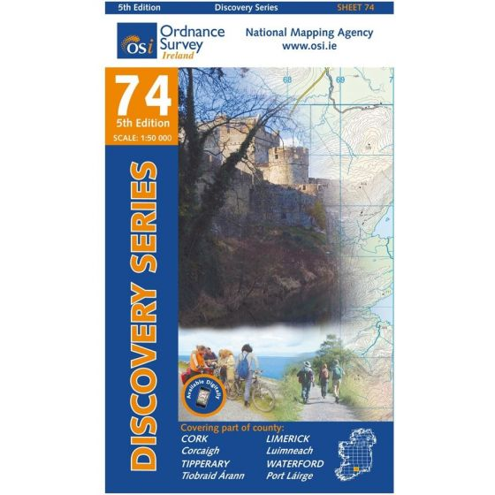 OS Discovery - 74 - Cork, Limerick, Tipperary