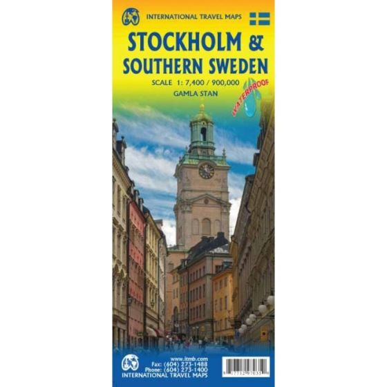 ITMB - World Maps - Stockholm / South Sweden