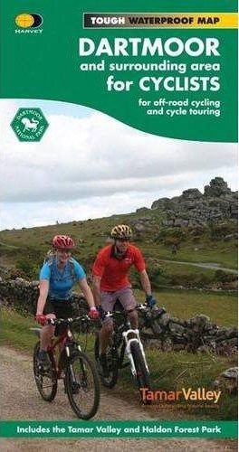 Harvey Cycle Map - Dartmoor for Cyclists