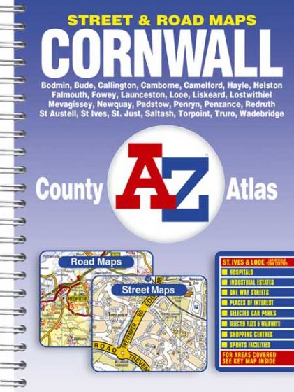 A-Z County Atlas - Cornwall