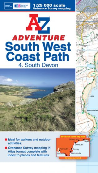 A-Z Adventure Atlas - South West Coast Path South Devon (4)