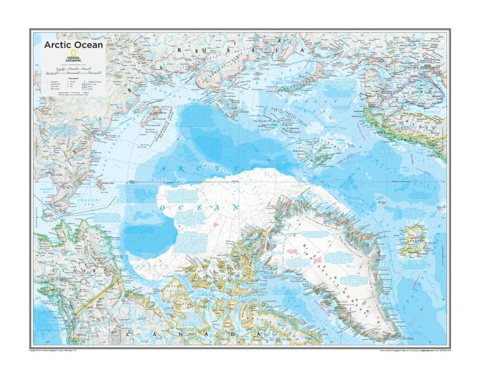 Arctic Political - Atlas of the World