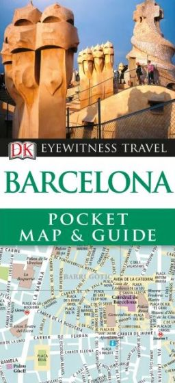DK - Eyewitness Pocket Map & Guide - Barcelona