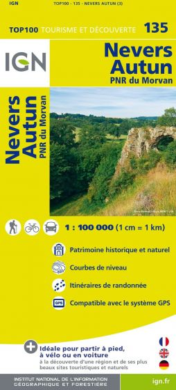 IGN Top 100 - Nevers / Autun / PNR Morvan