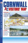 A-Z Visitor's Map - Cornwall