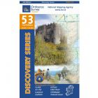 OS Discovery - 53 - Clare, Galway, offaly, Tipperary