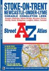 A-Z Street Atlas - Stoke-on-Trent
