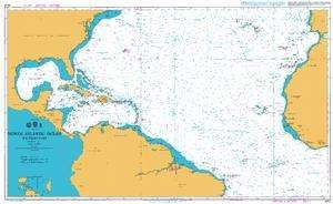 Admiralty Leisure Chart Folio - North Atlantic Ocean - Southern Part