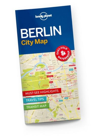 Lonely Planet - City Map - Berlin