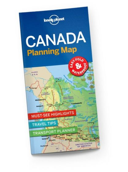 Lonely Planet - Planning Map - Canada