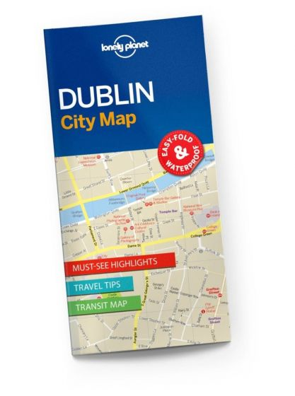 Lonely Planet - City Map - Dublin