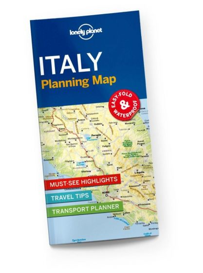 Lonely Planet - Planning Map - Italy
