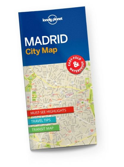 Lonely Planet - City Map - Madrid
