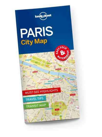 Lonely Planet - City Map - Paris