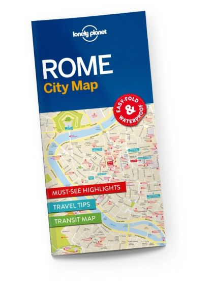 Lonely Planet - City Map - Rome