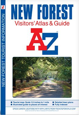 A-Z Visitors's Atlas - New Forest