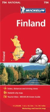 Michelin National Map - 754-Finland
