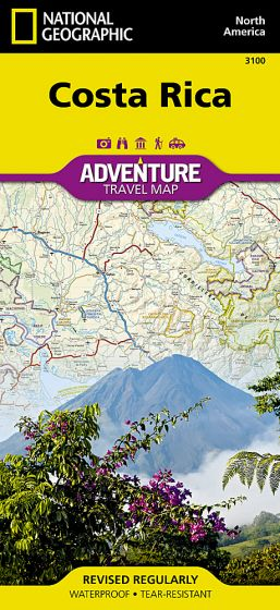 National Geographic - Adventure Map - Costa Rica